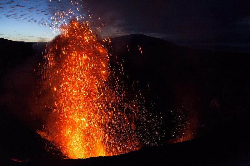 Volcano time….